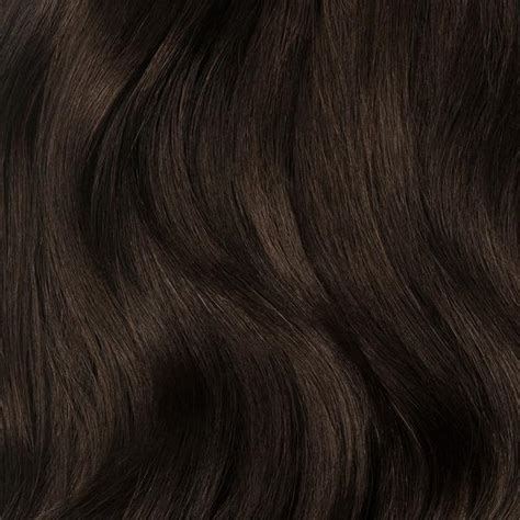 Darker Brown by Clip In Hair Extensions Brown Color 2 160 Grams