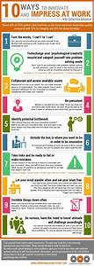 10 Ways To Innovate And Impress At Work  Infographic