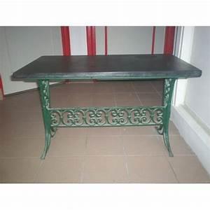 Table Basse Fer Forgé : table basse ancienne en fer forge et marbre noir achat et vente ~ Teatrodelosmanantiales.com Idées de Décoration