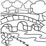Coloring Bridge Clipart Cabin Pages Log Sheet Bridges Clip Cliparts Drawing Children Printable Garden Cartoon Sheets Ruby Books Clipartpanda Coloringpagesfortoddlers sketch template