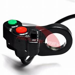 Universal 7  8 U0026 39  U0026 39  Handlebar Horn Turn Signal Light Switch Dual Sport Atv Scooter
