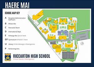 High School Library Design Riccarton High School School Map