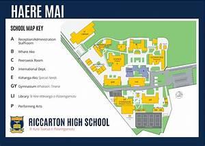 riccarton high school school map