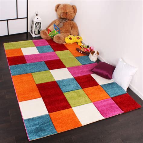 tappeto grande per bambini tappeto per bambini quadri arancione tapetto24
