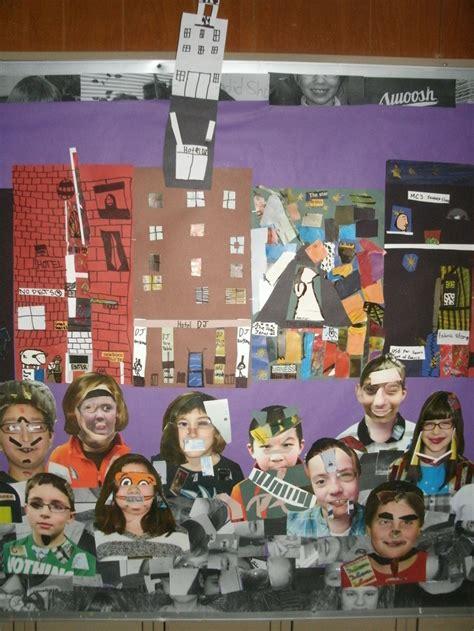 romare beardan collage project idea  arts