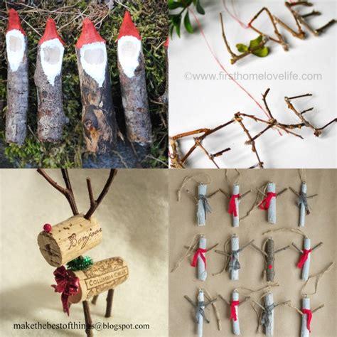 20 twig christmas ornaments to make