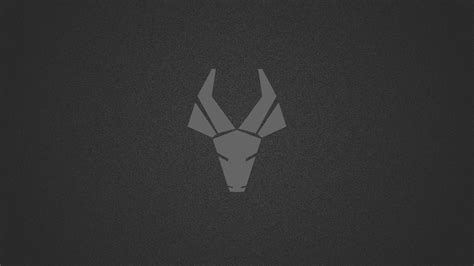 deer logo dark minimalism  hd artist  wallpapers