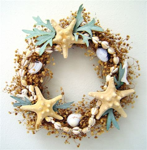 shells for decoration 17 best images about 2 seashell wreaths on pinterest sea shells starfish and christmas
