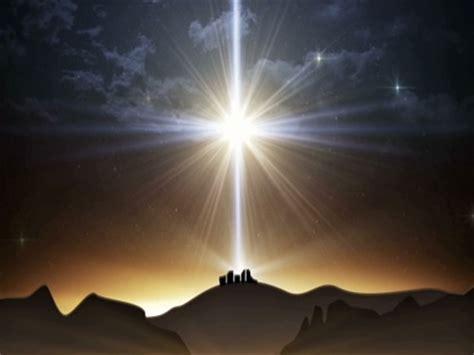 bethlehem christmas large star landscape life scribe
