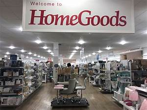 I shopped at TJ Maxx's sister furniture store, and it ...