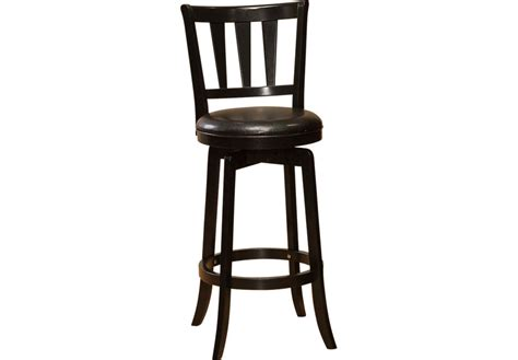 Presque Isle Black Counter Height Stool