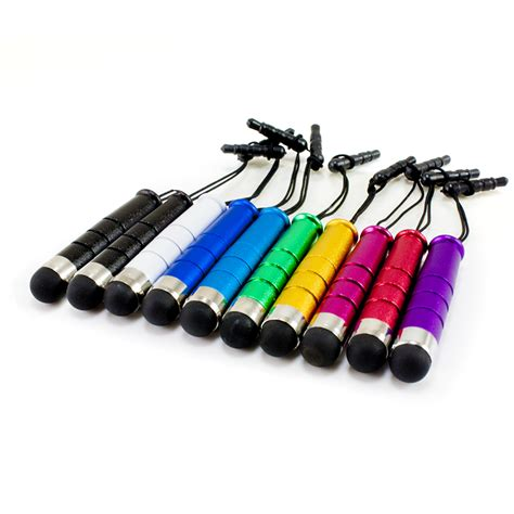 10x mini universal capacitive touch screen stylus pen for