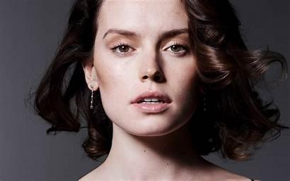Ridley Portrait Daisy Face Shoot English Actress