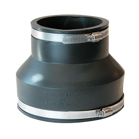Rubber Boot Coupling by Fernco Coupling Rubber 6 X 4 Quot L M Fleet Supply