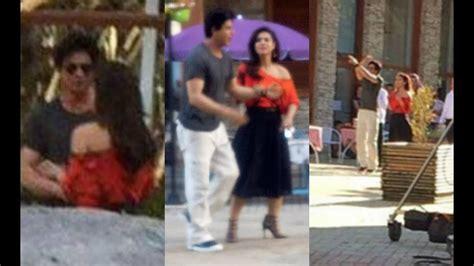 dilwale shahrukh khan  kajol hot romantic scene youtube