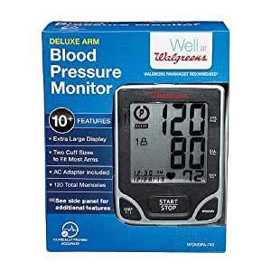 Amazon.com: Walgreens Upper Arm Automatic Deluxe Blood