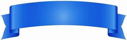 Banner Ribbon Transparent Clipart Background Pennant Clip