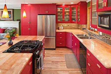 Cabinets for Kitchen: Pictures of Red Kitchen Cabinets
