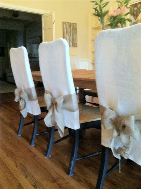 25 best ideas about dining chair slipcovers on