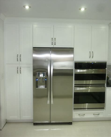 shaker pantry cabinets miami  visions