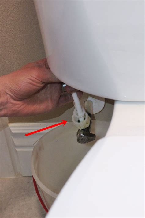 replace  toilet fill valve