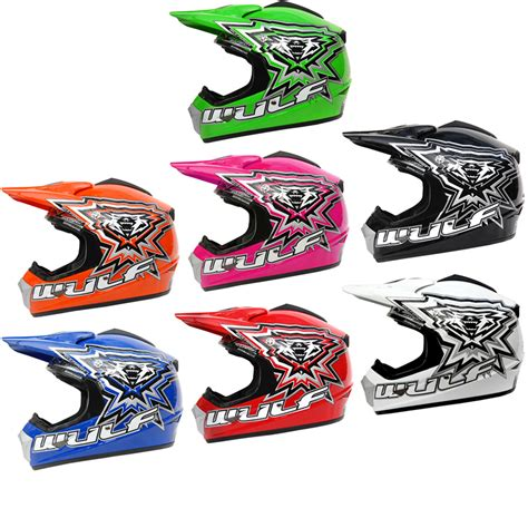 Wulf Cub Crossflite Childrens Motocross Mx Kids Junior