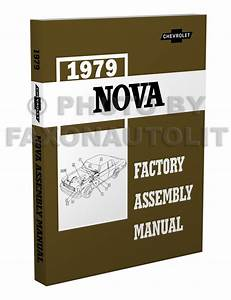 1979 Chevy Repair Shop Manual Nova Camaro Malibu Monte