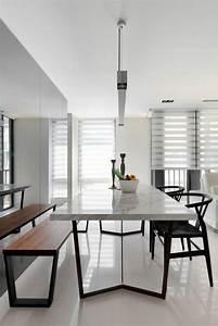 Table Salle A Manger Design : design salle manger blanc accueil design et mobilier ~ Teatrodelosmanantiales.com Idées de Décoration
