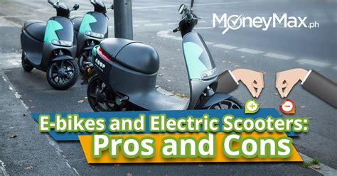 Pros & Cons Of Using E-bikes & E-scooters In The City