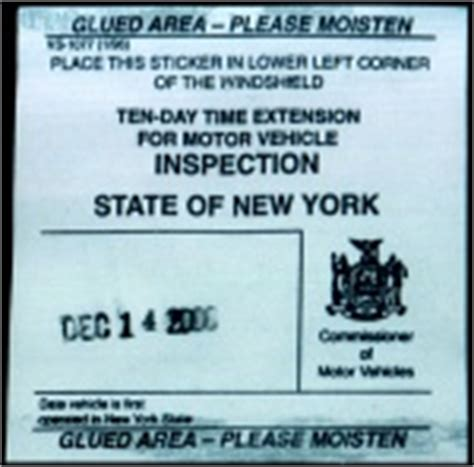 nys inspection check engine light waiver new york state vehicle inspection vehicle ideas