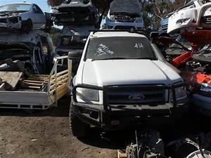 Pj Ford Ranger Dual Cab Xl Now Wrecking In Cool White