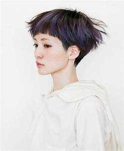 Short Hairstyles with Blunt Bangs for Teenage Girls ...