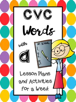 cvc words with a lesson plans and activities common