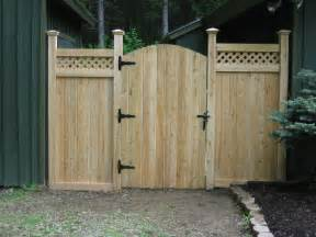 Wood Fence Gate Design Ideas