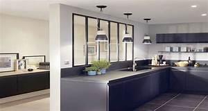 Verrière Intérieure Ikea : 8 d co cuisines am nag es avec une verri re int rieure ~ Melissatoandfro.com Idées de Décoration