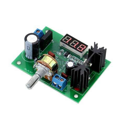 Adjustable Voltage Regulator Step Down