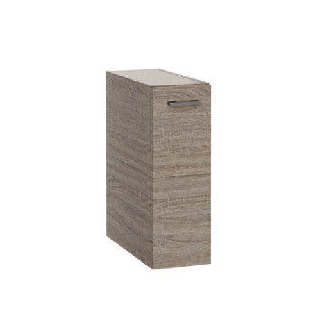 meuble cuisine 20 cm largeur meuble bas l 20 x h 57 5 x p 46 cm imitation chêne remix