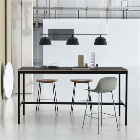 High Tables by Base High Table Mesa Alta Muuto De Aluminio Con Tapa De