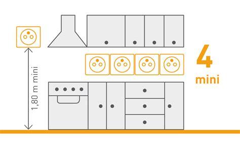 nfc 15 100 cuisine norme nf c 15 100 les prises de courant espace grand