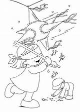 Coloring Pages Para Colorear Printable Christmas Posadas Las Dibujos Coloringbook4kids Pinata Worksheet Posada Imprimir Printables Guardado Desde January sketch template