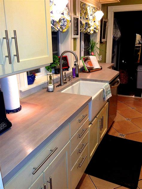 How To Refinish Butcher Block Countertops by Hometalk Refinishing Butcher Block Counter Tops