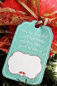 12 Days of Christmas for Husband with Free Printable Gift
