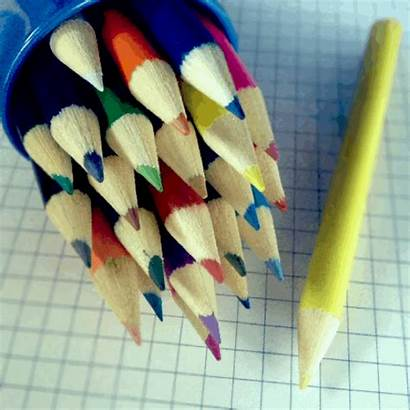 Pencil Colored Cinemagraph Give