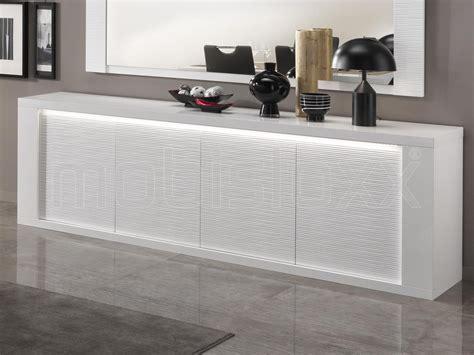 dressoir hoogglans wit dressoir 4 deuren hoogglans wit met verlichting