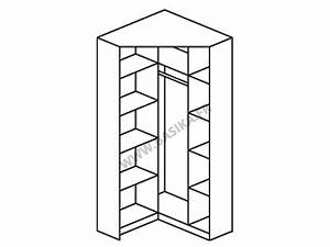 Armoire D Angle : armoire d 39 angle 2 portes miroirs celle blanc blanc brillant ~ Teatrodelosmanantiales.com Idées de Décoration