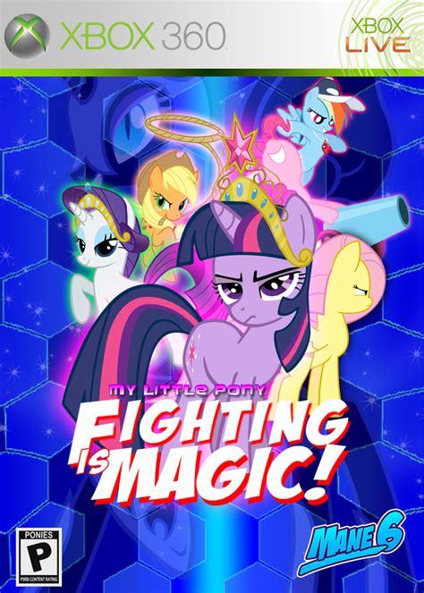 mlp fighting is magic mlp brasil