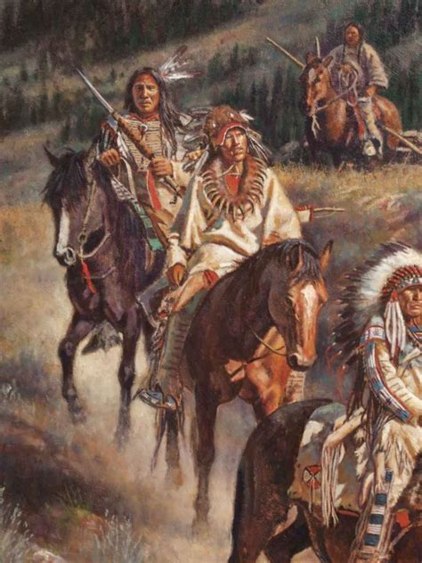 Don Oelze Native American Painting now in stock @ Old Plank
