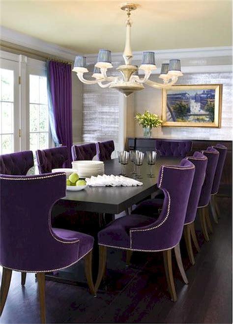 modern farmhouse dining room ideas decor purple