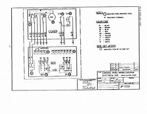 Control Panel Wiring Diagram