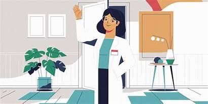 Doctors Care Urgent Animation Motion Medico Italy